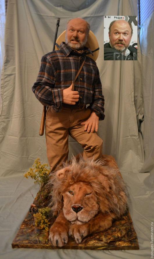 Портретные куклы ручной работы. Ярмарка Мастеров - ручная работа. Купить Портретная кукла. Handmade. Бежевый, портретная кукла