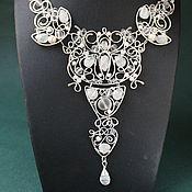 Украшения handmade. Livemaster - original item Necklace White Night(version). Handmade.