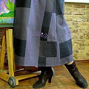 Одежда ручной работы. Ярмарка Мастеров - ручная работа Джинсовый сарафан для Марины. Handmade.