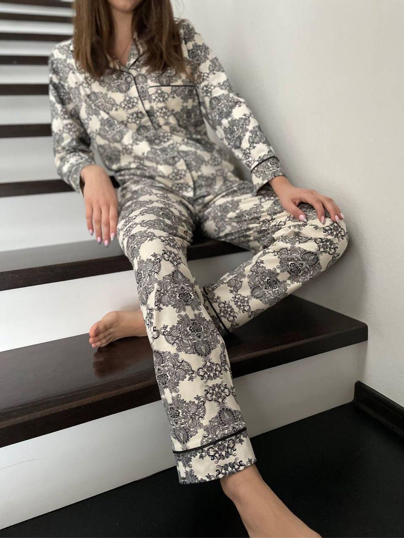 Хлопковая пижама «Аристократка», Пижамы, Иваново,  Фото №1