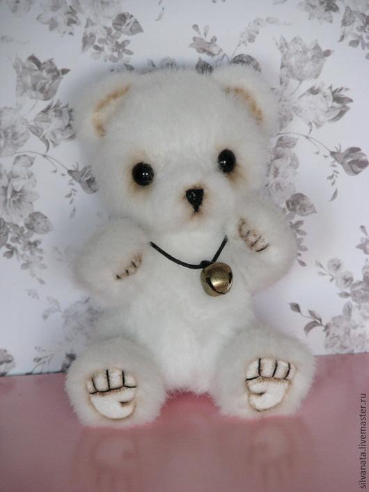 Мишки Тедди ручной работы. Ярмарка Мастеров - ручная работа. Купить Мишка Тедди мини-11,5см. Снежок.. Handmade.