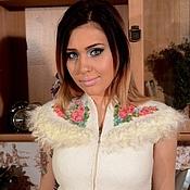 Одежда handmade. Livemaster - original item Vest Lebedushka. Handmade.