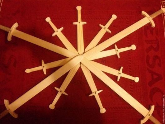 Оружие ручной работы. Ярмарка Мастеров - ручная работа. Купить Деревянные мечи. Handmade. Деревянный мечи, игрушки ручной работы