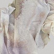 Аксессуары ручной работы. Ярмарка Мастеров - ручная работа Валяный шарф Королева. Handmade.