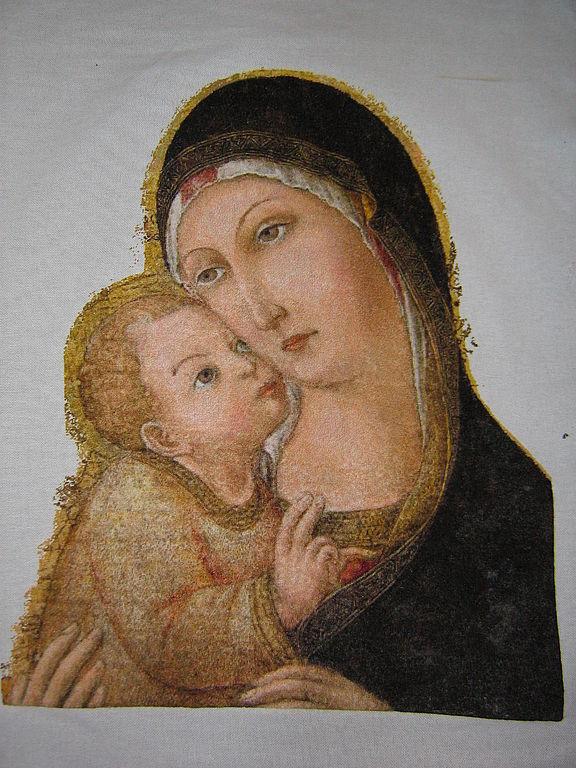Мадонна с младенцем, Картины, Москва,  Фото №1