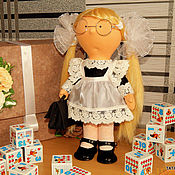 Куклы Тильда ручной работы. Ярмарка Мастеров - ручная работа КУКЛА БОЛЬШЕНОЖКА. Handmade.
