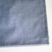 Материалы для творчества ручной работы. Ярмарка Мастеров - ручная работа Ткань рубашечная Джинс. Handmade.