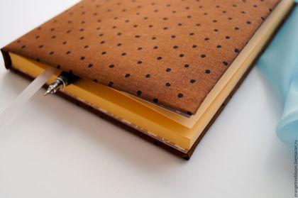 `Горький шоколад и сладкий персик`. Ежедневник формата А5. Блокнот. 192 страницы. Этого десерта можно много...и каждый день.))
