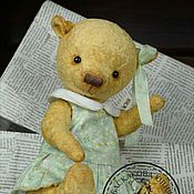 Куклы и игрушки ручной работы. Ярмарка Мастеров - ручная работа Авторский мишка тедди Жаклин. Handmade.