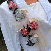 """Одежда ручной работы. Ярмарка Мастеров - ручная работа Жакет """" Белый"""" в стиле Шебби Шик, Бохо Шик.. Handmade."""