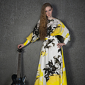 Одежда ручной работы. Ярмарка Мастеров - ручная работа шелковое вечернее платье. Handmade.