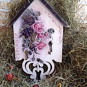 """Для дома и интерьера ручной работы. Ярмарка Мастеров - ручная работа Ключница """"Прованс"""", ключница. Handmade."""