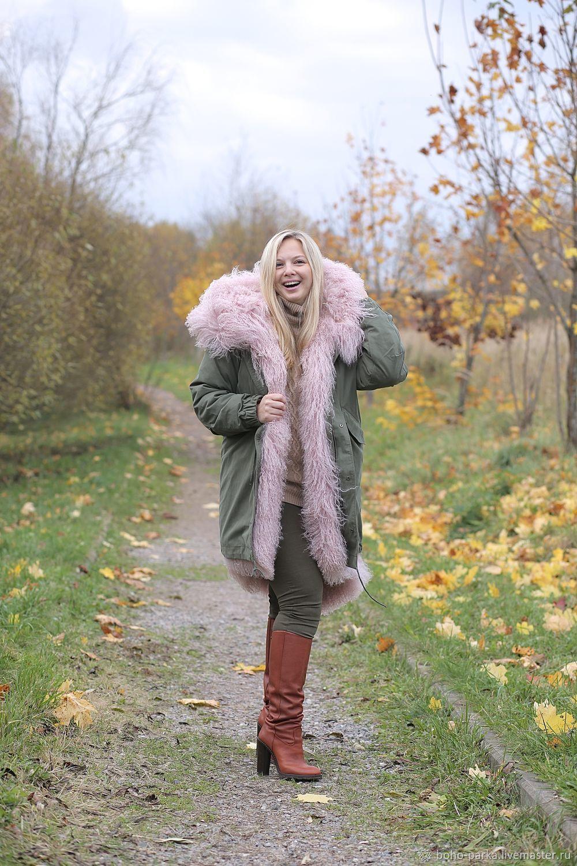 The Natasha jacket size L. Natasha`s height 168 smedra 115, Chest 110 cm.