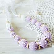 Одежда handmade. Livemaster - original item Slingobusy textile with lace
