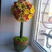 Цветы и флористика ручной работы. Ярмарка Мастеров - ручная работа дерево счастья, топиарий. Handmade.