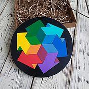 handmade. Livemaster - original item Puzzles, puzzles: Puzzle