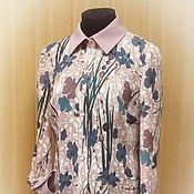 """Одежда ручной работы. Ярмарка Мастеров - ручная работа Блузка """"Цветы"""". Handmade."""