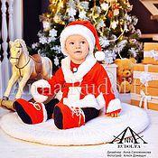 """Одежда ручной работы. Ярмарка Мастеров - ручная работа Новогодний костюмчик """"Дед мороз"""" для мальчиков. Handmade."""