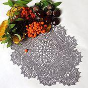 Для дома и интерьера handmade. Livemaster - original item Lace oval doily No. №42. Handmade.