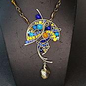 Украшения handmade. Livemaster - original item Cleopatra`s Lotus Necklace Pendant. Handmade.