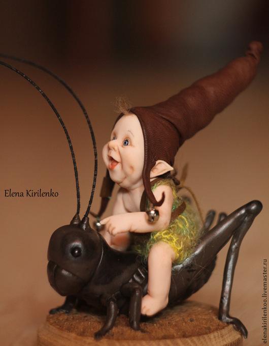 """Коллекционные куклы ручной работы. Ярмарка Мастеров - ручная работа. Купить """"Snorry"""". Handmade. Коричневый"""