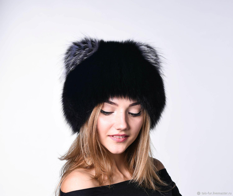 Меховая шапка Кошка, тёплая, зимняя, Шапки, Курганинск,  Фото №1