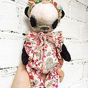 Куклы и игрушки ручной работы. Ярмарка Мастеров - ручная работа Панда - тедди. Handmade.