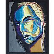 Картины и панно ручной работы. Ярмарка Мастеров - ручная работа Портрет на заказ в стиле ПОПАРТ. Handmade.