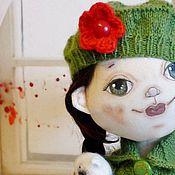 Куклы и игрушки ручной работы. Ярмарка Мастеров - ручная работа текстильная авторская кукла, пупс, Ёлка. Handmade.