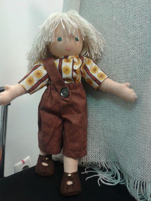 Вальдорфская игрушка ручной работы. Ярмарка Мастеров - ручная работа. Купить Нахаленок. Handmade. Рыжий, кукла, кукла вальдорфская
