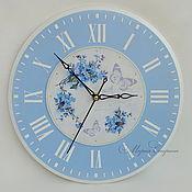"""Часы настенные круглые """"Небесное время"""""""
