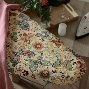 Для дома и интерьера ручной работы. Ярмарка Мастеров - ручная работа Бабочки Чехол на гладильную доску. Handmade.