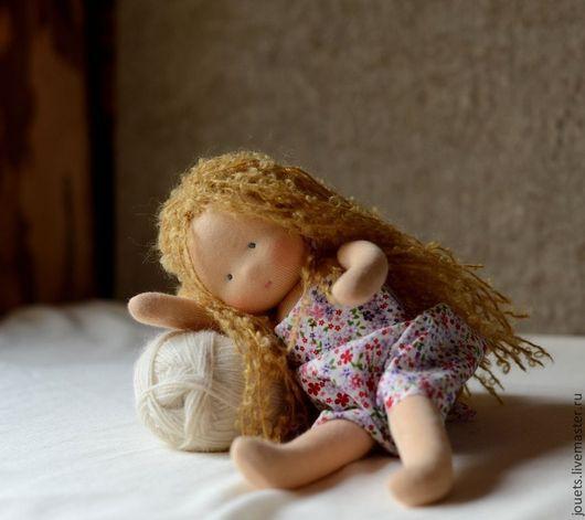 Вальдорфская игрушка ручной работы. Ярмарка Мастеров - ручная работа. Купить Негрустинка Малышка, 28см. Handmade. Вальдорфская кукла