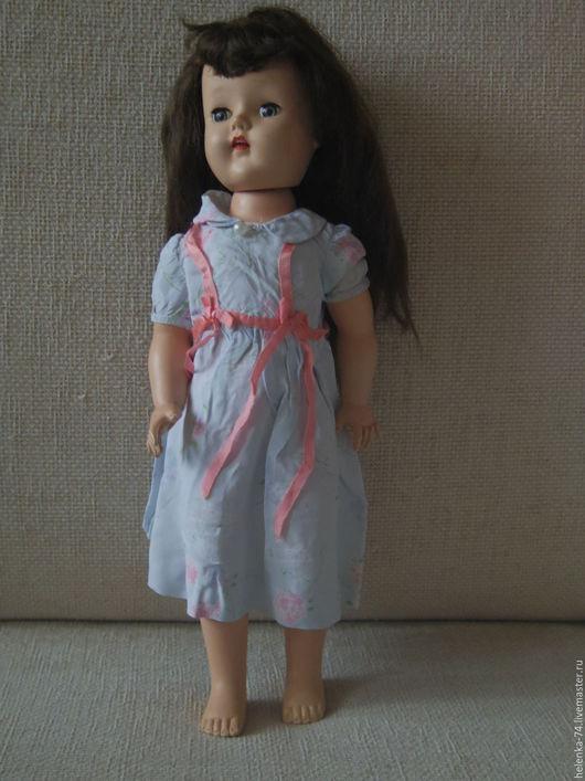 Винтажные куклы и игрушки. Ярмарка Мастеров - ручная работа. Купить Винтажная ходячая кукла Hard Plastic. Handmade. Ярко-красный