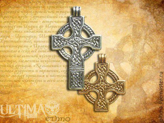 """Кулоны, подвески ручной работы. Ярмарка Мастеров - ручная работа. Купить Подвеска """"Кельтский крест"""". Handmade. Кельтский крест, крестик"""