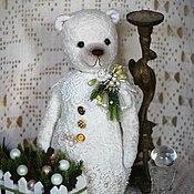 Куклы и игрушки ручной работы. Ярмарка Мастеров - ручная работа Snow Bear 2. Handmade.