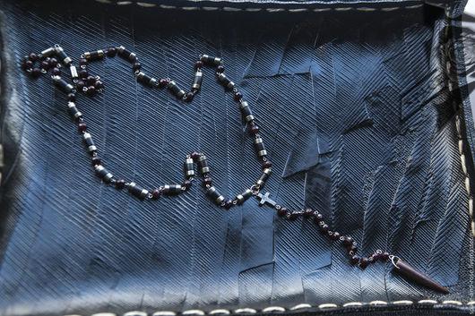 """Украшения для мужчин, ручной работы. Ярмарка Мастеров - ручная работа. Купить Четки """"Constellation of bull"""". Handmade. Бусы унисекс"""