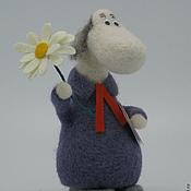 Куклы и игрушки ручной работы. Ярмарка Мастеров - ручная работа Хемуль филателист-ботаник. Handmade.