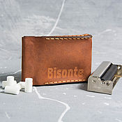 Сумки и аксессуары handmade. Livemaster - original item Cigarette case leather cigarette. Handmade.