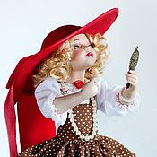 Куклы и игрушки ручной работы. Ярмарка Мастеров - ручная работа Маленькая модница. Handmade.