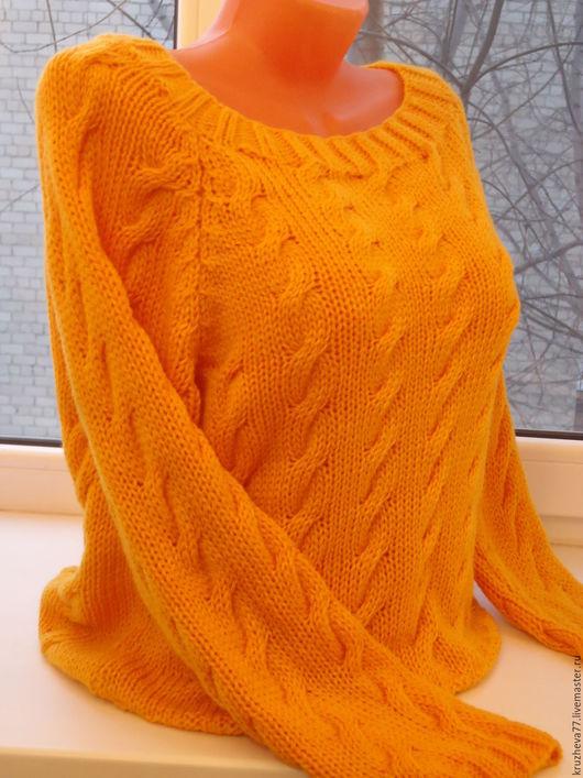 Джемпер женский желтый