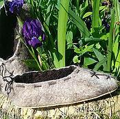"""Обувь ручной работы. Ярмарка Мастеров - ручная работа Тапки  мужские """"Готика"""". Handmade."""