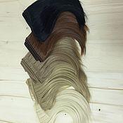 Материалы для творчества handmade. Livemaster - original item Hair pieces straight 15 SMV range. Handmade.