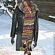 """Шарфы и шарфики ручной работы. Шарф вязаный женский """" Лесная фея"""" 2метра 60см(ручная вязка). Ручное Вязание от Янины. Ярмарка Мастеров."""