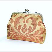 Сумки и аксессуары handmade. Livemaster - original item Cosmetic bag with clasp. Handmade.