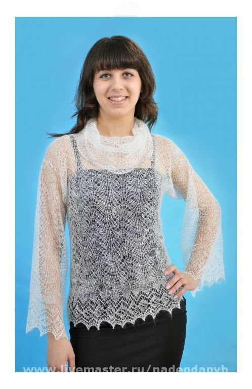 Sweatshirts & Sweaters handmade. Livemaster - handmade. Buy 11 jacket down handmade 'Gentle and soft' clothing.Handmade