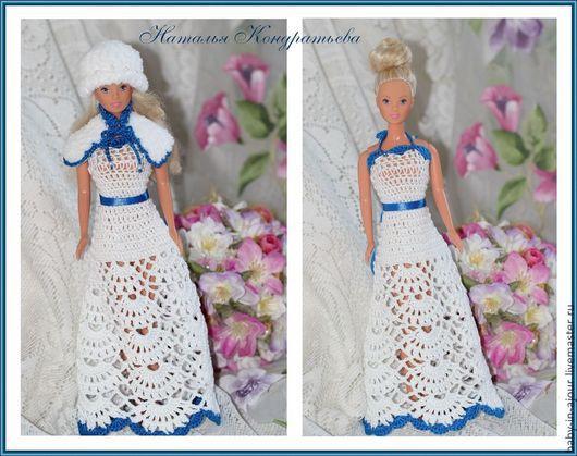 Одежда для кукол ручной работы. Ярмарка Мастеров - ручная работа. Купить Наряды для куклол. Handmade. Белый, наряд для куклы