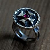 Украшения handmade. Livemaster - original item Women`s ring silver with natural stone. Handmade.