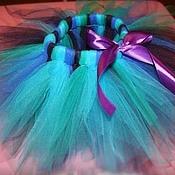 Работы для детей, ручной работы. Ярмарка Мастеров - ручная работа юбка туту, бирюзовая , Павлин. Handmade.