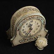 Для дома и интерьера ручной работы. Ярмарка Мастеров - ручная работа Часы каимнные Дыхание франции. Handmade.